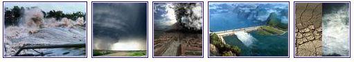 catastrophes naturelles dans le monde