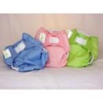 Couches lavables en couleur