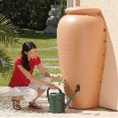 Les récupérateurs d'eau de pluie