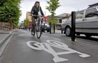 vélos dans la ville
