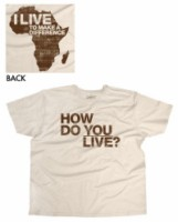 T-shirt Edun Live