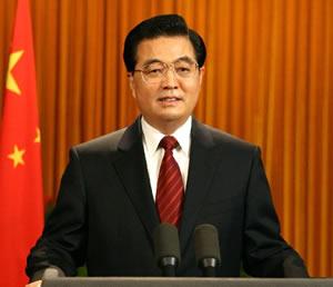 Hu Jintao, le Président chinois