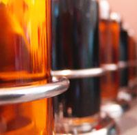 recycler les bouteilles d'huile