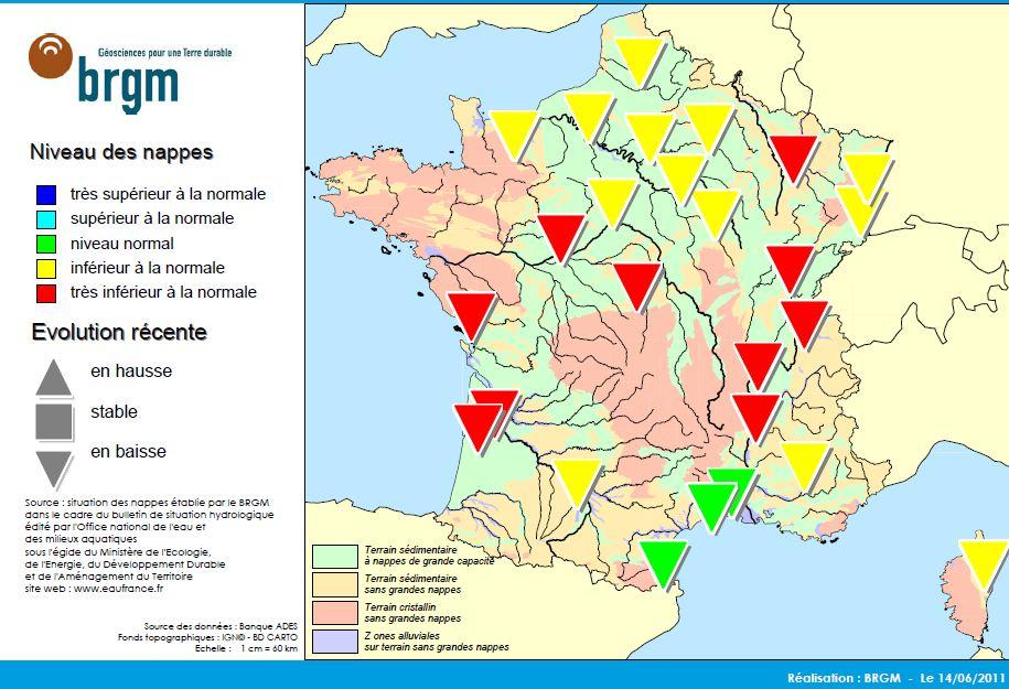 Nappe Phr 233 Atique France Carte