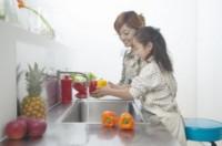 Nettoyer les fruits et légumes