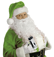pere noel vert