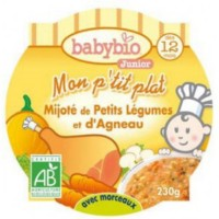 Petit plat Babybio petits légumes
