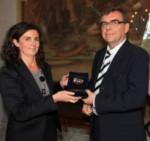 Remise médaille Milan