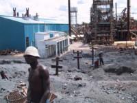 Zabwe, ville polluée