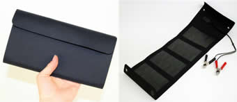 panneau solaire pliable chargeur