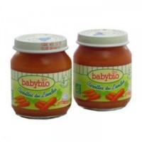 Petits pots babybio carottes