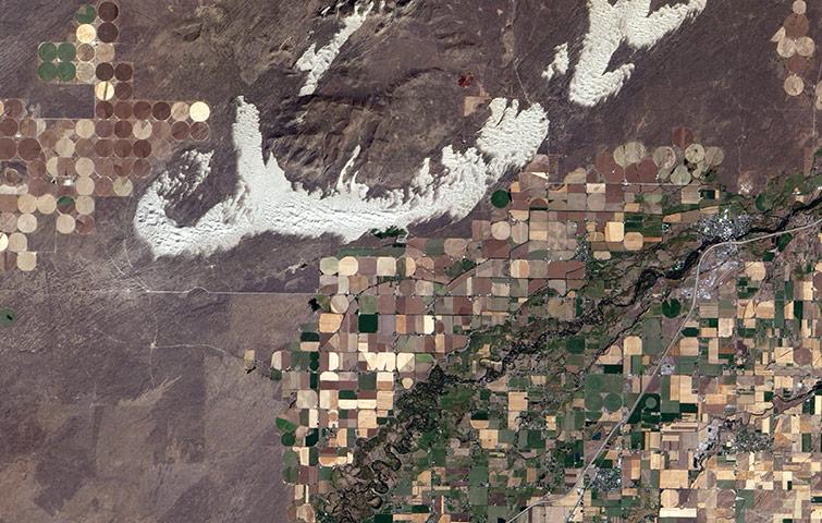 Dunes de l'Idaho
