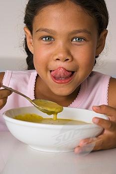 consommation de soupe
