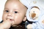 Bébé sourit
