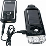 chargeur solaire et lampe
