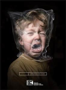 campagne tabagisme passif et enfants