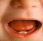 langue bébé, goût