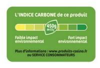 etiquette carbone