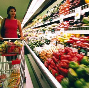 Les Français et l'alimentation supermarché