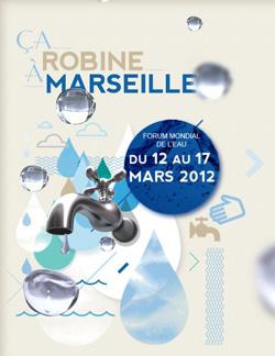 Affiche forum de l'eau 2012