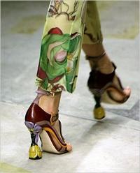 chaussures défilé - chaussure écolo - consoGlobe