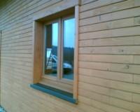 Maison en parpaing bois