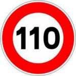 Limitation 110km/h