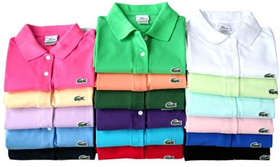 production polo lacoste