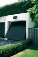 porte de garage solaire
