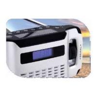 Radio réveil solaire et dynamo