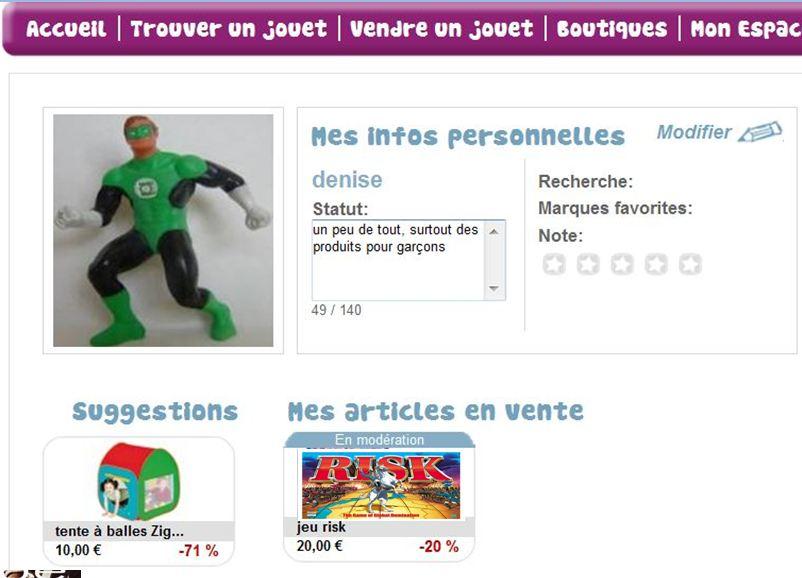 Vendre des jouets sur internet - Vendre des objets sur internet ...
