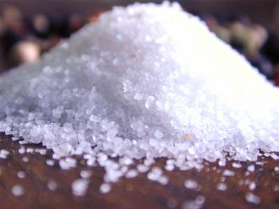 consommation sel de table