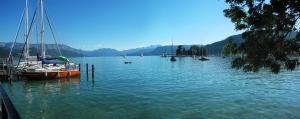 vacances au lac