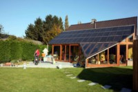 Veranda photovoltaïque