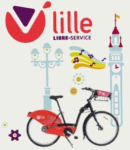 vlille velo libre service lille